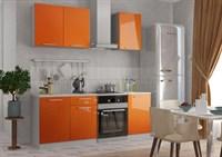 Кухня Оранж металлик 1,5 м.