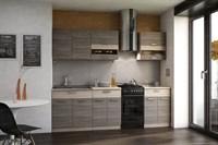 Кухня Эра зебрано 2,0 м.