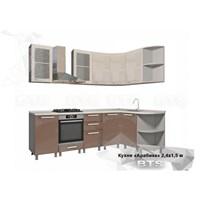 Кухня Арабика 2400*1500 мм.
