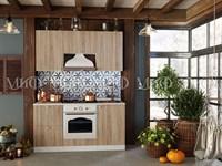 Кухня Техно 1 дуб сонома 1,6 метра