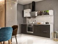 Кухонный гарнитур Техно-3 Малина черная