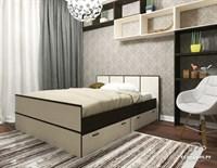 Купить двуспальная кровать Сакура 1400*2000 1,4*2,0 мебельскладкмв.рф