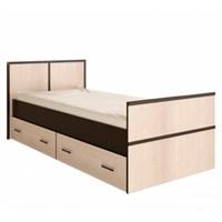 Купить кровать односпальная сакура 900*2000 мм 0,9*2,0 м фабрика БТС МИФ ДИСАВИ мебельскладкмв.рф