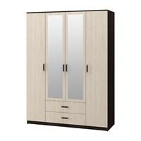 Купить шкаф фиеста 4-х створчатый фабрика миф бтс bts мебельскладкмв.рф