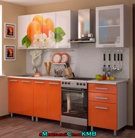 Купить кухню персик 1,8 метра фабрика бтс мебельскладкмв.рф
