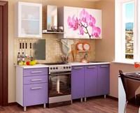 Купить Кухонный гарнитур Орхидея  1,6 м  Фабрика БТС МебельСклад.РФ