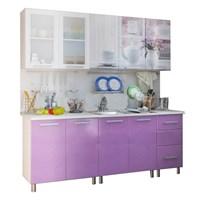 Купить кухня Прима 2,0 акварель МДФ фабрика bts бтс мебельскладкмв.рф