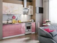 Купить кухня вишневый цвет 2,0 метра фабрика МИФ мебельскладкмв.рф