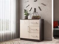 Комод Бася 3 ящика 1 дверь купить мебельскладкмв.рф