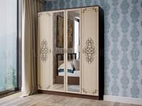Купить шкаф Жасмин 4х дверный фабрика МИФ мебельскладкмв.рф