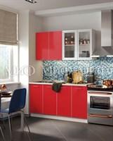 Купить кухня красная 1,6 метра фабрики миф мебельскладкмв.рф