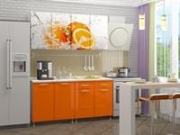 купить кухню апельсин 1,6 метра фабрика миф мебельскладкмв.рф