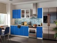Кухонный гарнитур Фортуна синяя 1,8 м.