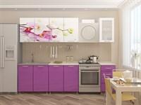 Кухонный гарнитур Орхидея Сиреневая 1,8 м.