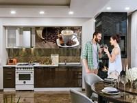 Кухонный гарнитур Кофе 1,8 м.