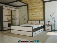 Модульная спальня Сакура вариант №2